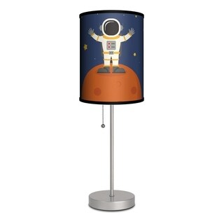 LAMP IN A BOX First Child on the Moon Kids Table Lamp