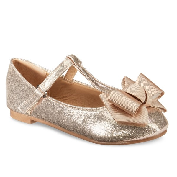 9e65b5f098b Shop Olivia Miller Girls Halie Ballet flats - On Sale - Free ...