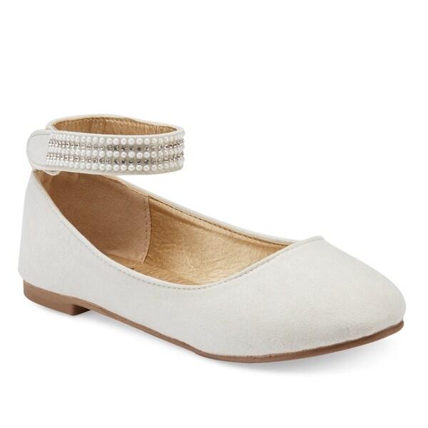 dc40195b0 Shop Olivia Miller Girls Jewel Ballet flats - On Sale - Free ...