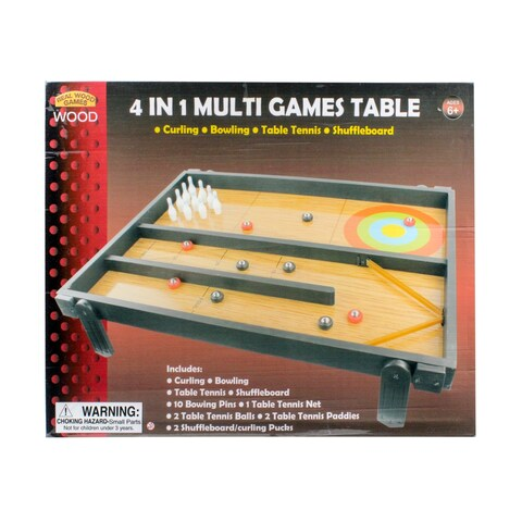 4'n 1 Tabletop Game Table