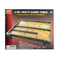 4'n 1 Tabletop Game Table