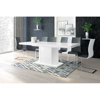 AMIGO Storage Dining Table - White