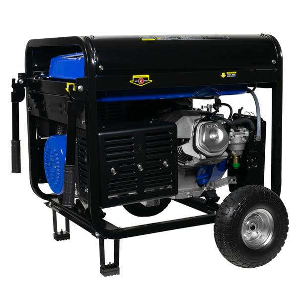 Shop Duromax 12000 9500 Watt 18 Hp Electric Portable Gas Generator Overstock 21544154
