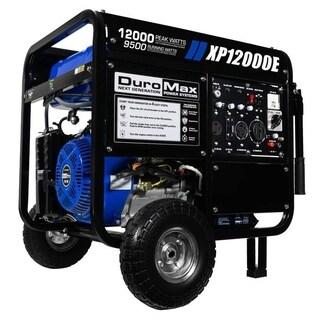 DuroMax XP12000E 12000 Watt 18 HP Portable Gas Generator