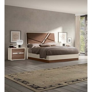 Luca Home Houston Modern Style King Bed