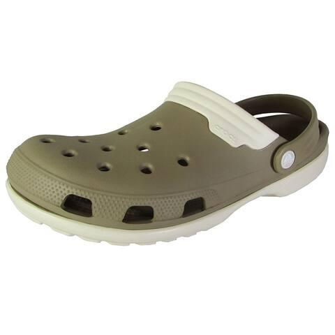 6b532e7ef67c Crocs Mens Duet Slingback Clog Sandal Shoes