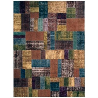 Wool Patchwork Rug - 10'6'' x 14'3''