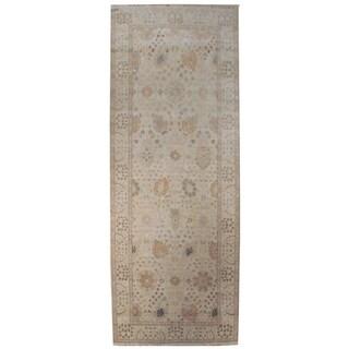 Wool Tabriz Rug - 5' x 12'2''