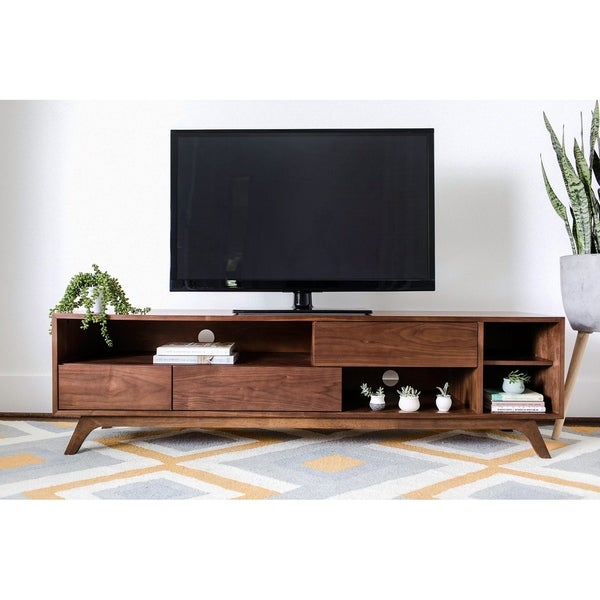 Shop Beverly Mid Century Modern Tv Stand Cabinet With Storage
