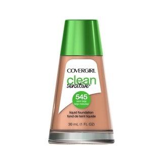 CoverGirl Clean Sensitive Liquid Foundation 545 Warm Beige