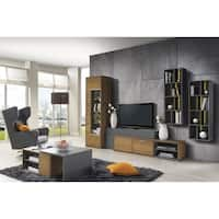 Harmony Brown Oak Large TV Stand