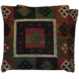 """Link to Handmade 20"""" Kilim Throw Pillow, Set of 2 Similar Items in Decorative Accessories"""