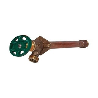 Arrowhead 1/2 in. Sweat Dia. x 3/4 in. Dia. MIP 13 in. Brass Antisiphon Wall Hydrant Frost-Proof