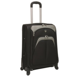 Travelers Club Lexington Collection Expandable Spinner Carry-On Suitcase