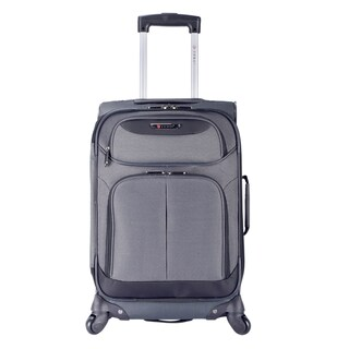 "Travelers Club Naples Collection 21"" Expandable Carry-On Spinner Suitcase"