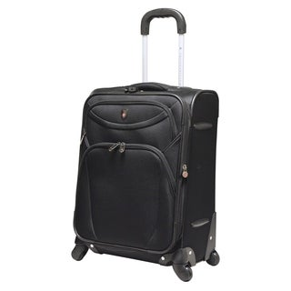 "Travelers Club ""D-Luxe"" Collection 21"" Expandable Spinner Carry-On Suitcase"