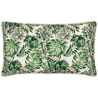 Boho Living Botanical 14 x 24 in. Decorative Lumbar Pillow