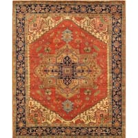 """Serapi Collection Hand-Knotted Wool Area Rug (11'11"""" X 15' 0"""")"""