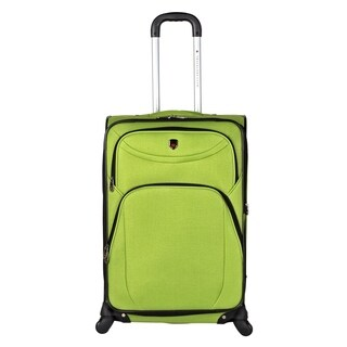 """Travelers Club """"D-Luxe"""" Collection 25-inch Spinner Suitcase"""