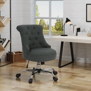 Link to Auden Home Office Desk Chair by Christopher Knight Home Similar Items in Office & Conference Room Chairs