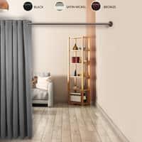 """InStyleDesign 1"""" Premium Adjustable Room Divider Rod and Socket Set"""