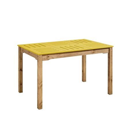 Mid- Century Modern Stillwell 47.25 Inch Rectangular Wood Dining Table