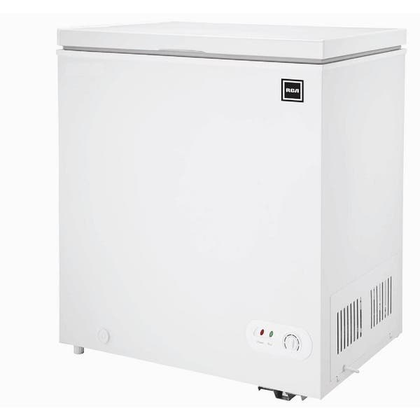 Shop Black Friday Deals On 5 0 Cu Ft Chest Freezer In White Overstock 21547227