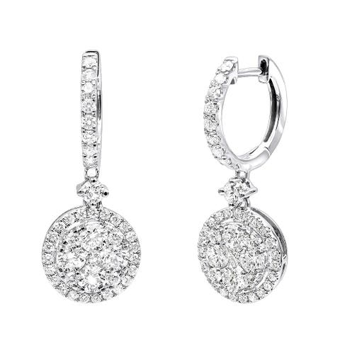 c4679946e3000 Buy 2 to 2.5 Carats Diamond Earrings Online at Overstock | Our Best ...