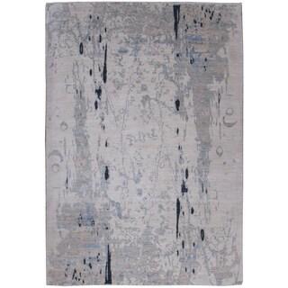 Wool Tabriz Rug - 6' x 9'