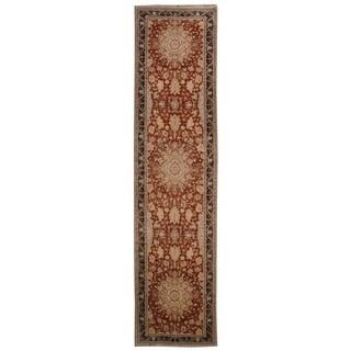 Wool Tabriz Rug - 3'11'' x 16'3''