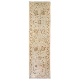 Wool Tabriz Rug (3' x 10') - 3' x 10'