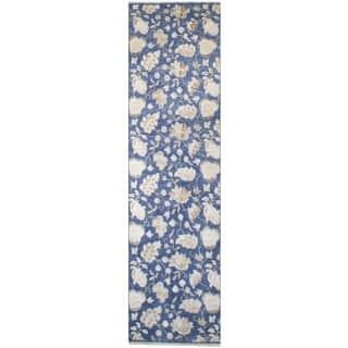 """Wool Tabriz Rug (2'9'' x 10'2'') - 2'9"""" x 10'2"""""""