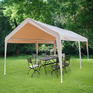 10x20 feet Carport Heavy Duty Car Canopy Tent Party Tent Multi Color