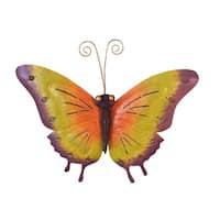 Offex Handmade Iron Butterfly Wall Mounting Decor Medium