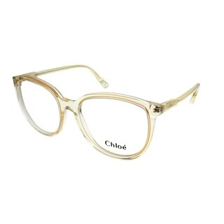 Chloe Square CE 2719 799 Women Yellow Crystal Frame Eyeglasses