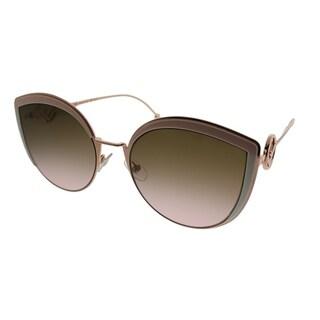 Link to Fendi Cat-eye FF 0290 F is Fendi 35J Women Pink Frame Brown Gradient Lens Sunglasses Similar Items in Women's Sunglasses