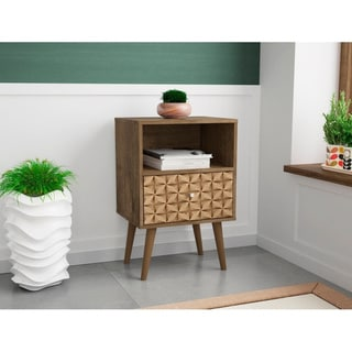 Link to Liberty 1.0 Mid Century Modern 1 Drawer Nightstand Similar Items in Bedroom Furniture