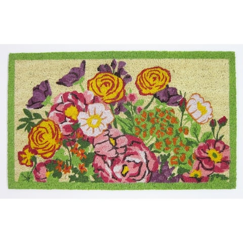 Mary Lake Thompson Floral Doormat