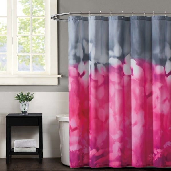 Christian Siriano Botanical Ombre 72 X Shower Curtain
