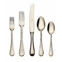 Mepra 5-piece Stainless Steel w/PVD Titanium Coating Epoque Champagne Place Setting