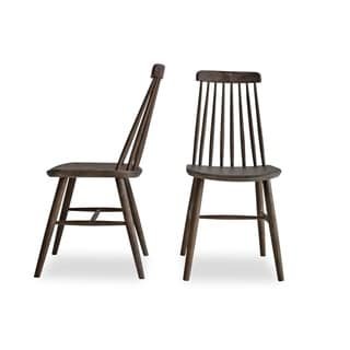 Shop Safavieh Dining Country Burris Grey Dining Chairs