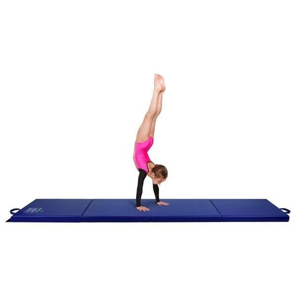 Shop Gymnastics Mat 2 X 8 Quad Folding Tumbling Mats