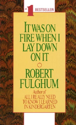 It Was on Fire When I Lay Down on It (Paperback)