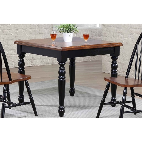 Shop Coreen 36 Square Dining Table Black Cherry Finish Free