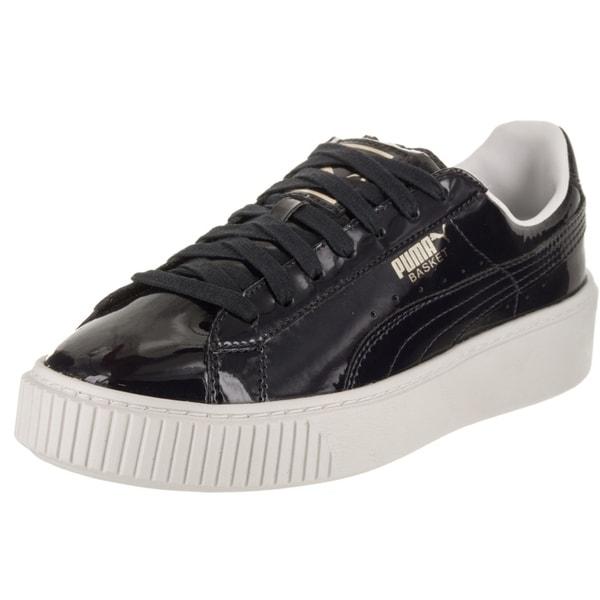 576839649fa9 Shop Puma Women s Basket Platform Patent Casual Shoe - Free Shipping ...