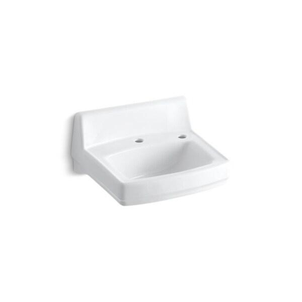 Greenwich White Right Hand Soap Dispenser Hole Bathroom Sink