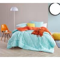 BYB Yucca/Orange Reversible Comforter - Oversized Bedding