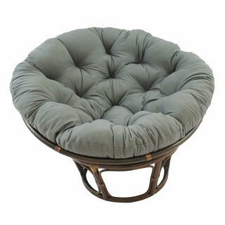 Blazing Needles 52-inch Solid Twill Papasan Cushion