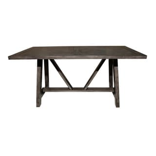 Link to Farmhouse Style Trestle Dining Table Similar Items in Dining Room & Bar Furniture