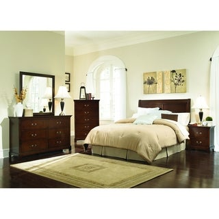 Tatiana Warm Brown 5-piece Bedroom Set (3 options available)